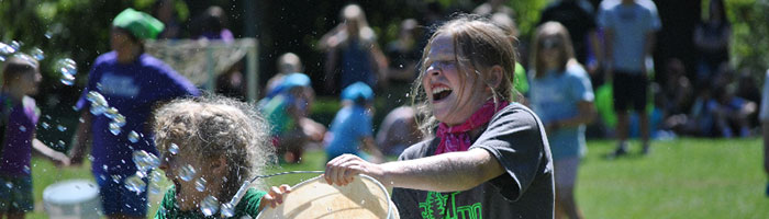 Third and fourth grade summer camp at Camp Yamhill