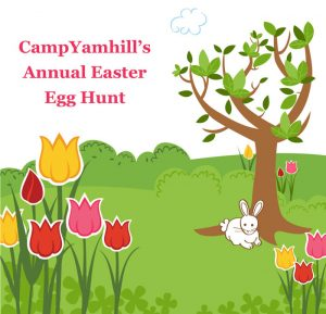 Camp Yamhill's Annual Easter Egg Hunt