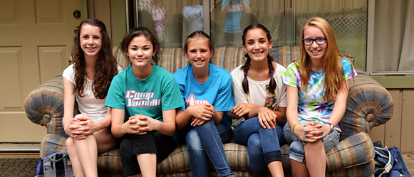 Teen Girls Retreat for junior high and high school age children at Camp Yamhill