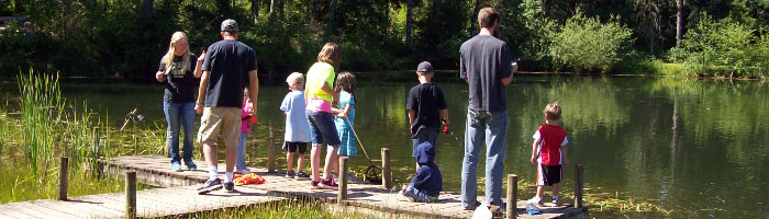Father and child camp at Camp Yamhill